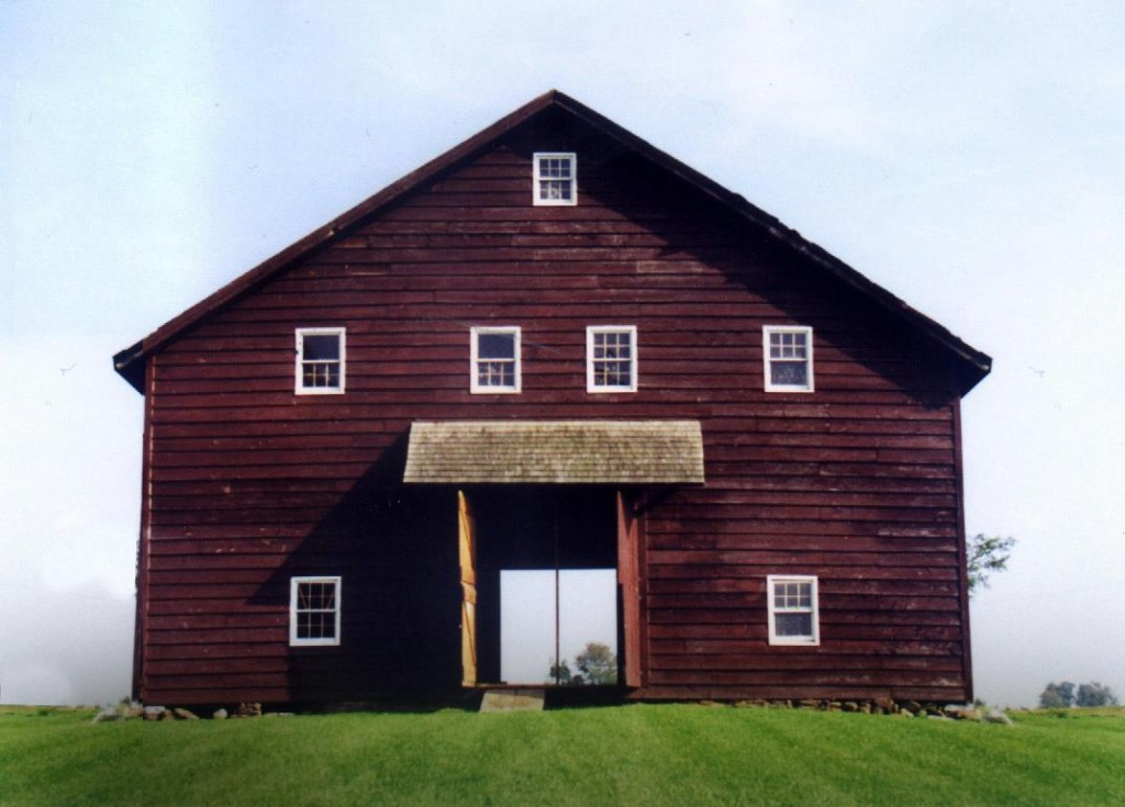 Before: The Barn in Fort Plain.
